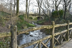 A Lesser Known Rustic Bridge On Central Park's NW Side