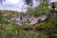 Bethesda Fountain At Bethesda Terrace-Central Park