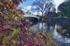Bow Bridge Is One Of Central Park's Most Photographed Bridges