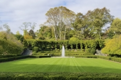 Early Autumn At Central Park's Conservancy Gardens