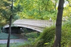 One Of Central Park's 5 Remaining Cast-Iron Bridges