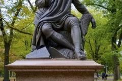Robert Burns Statue-Central Park