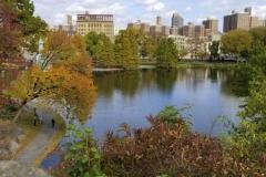 The Harlem Meer-Central Park's NE Corner