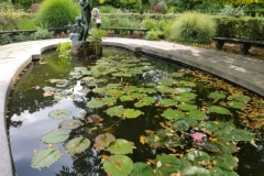 At Conservatory Gardens
