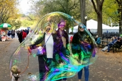 Caught In A Giant Bubble