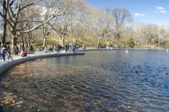 Conservatory Water Basin-Central Park
