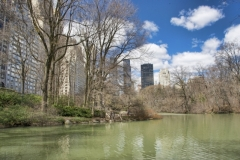 Springtime At The Pond-Central Park