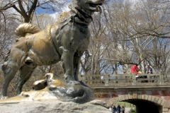 Statue Of Balto The Sleddog-Central Park