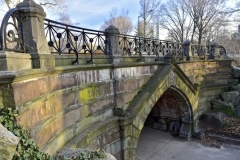 Stunningly Beautiful Greywacke Arch-Central Park