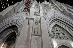 Close-Up View Of St. Patrick's Cathedral's Beautiful Architecture