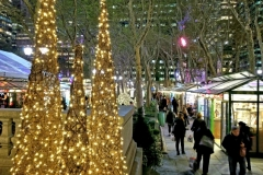 Holiday Shopping At The Bryant Park Winter Village