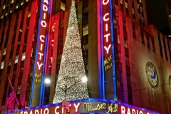 Radio City Music Hall All Decorated For Christmas