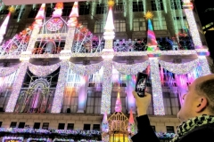 Sak's Fifth Avenue Holiday Light Show Display