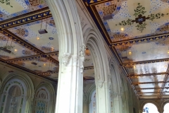 Beautiful Ceiling Tiles Under Bethesda Terrace