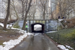 Dipway Arch, Central Park-Winter