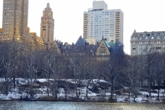 This Central Park Lake Was Once Used For Ice Skating In The Early 1900's