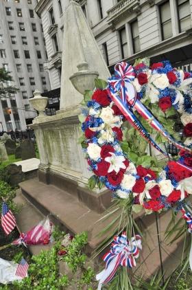 Alexander Hamilton's Gravesite