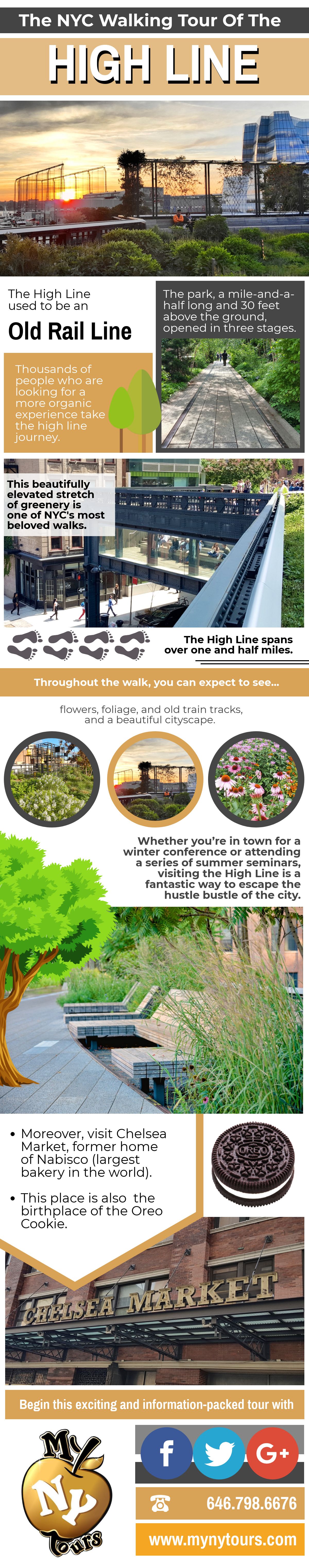 high line - infographic